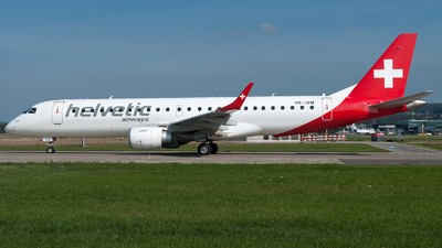 HB-JVM - Embraer 190-100LR - Helvetic Airways