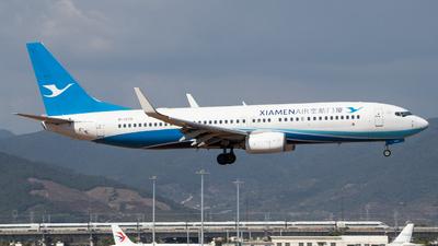A picture of B1579 - Boeing 73785C - Xiamen Air - © GZH