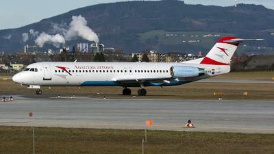 OE-LVB - Fokker 100 - Austrian Arrows
