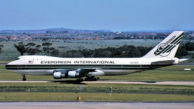 N474EV - Boeing 747-121(SF) - Evergreen International Airlines