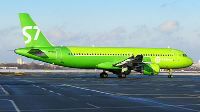 VP-BCZ - Airbus A320-214 - S7 Airlines
