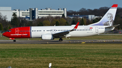 LN-NGK - Boeing 737-8JP - Norwegian