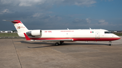 A picture of XAVDL - Mitsubishi CRJ200SF - Aeronaves TSM - © Brad T