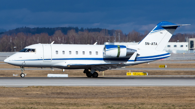 5N-ATA - Bombardier CL-600-2B16 Challenger 605 - Private