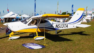 A picture of N513TA - Tecnam P92 Eaglet - [1513] - © Steve Smith