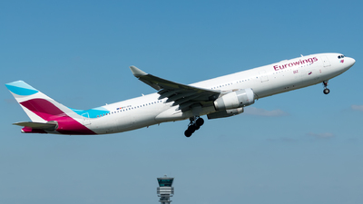OO-SFB - Airbus A330-343 - Eurowings (Brussels Airlines)