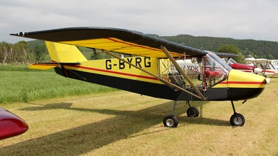 G-BYRG - Rans S-6ES Coyote II - Private