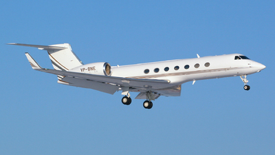 VP-BNE - Gulfstream G550 - Jet Aviation Business Jets