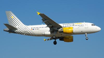 A picture of ECMKV - Airbus A319112 - Vueling - © Marcello Galzignato - Tuscan Aviation