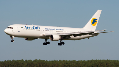 UR-VVF - Boeing 767-383(ER) - AeroSvit Ukrainian Airlines