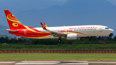B-1795 - Boeing 737-84P - Hainan Airlines