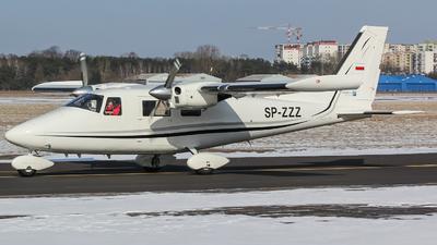 SP-ZZZ - Vulcanair P.68C - Private