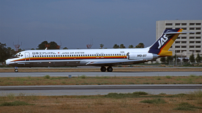 N19B - McDonnell Douglas MD-87 - Japan Air System (JAS)