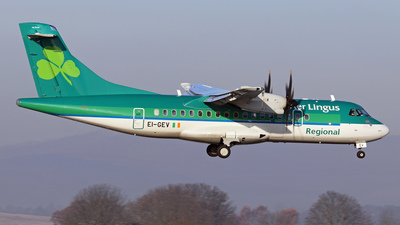 A picture of EIGEV - ATR 42600 - Aer Lingus - © Scotty Antico