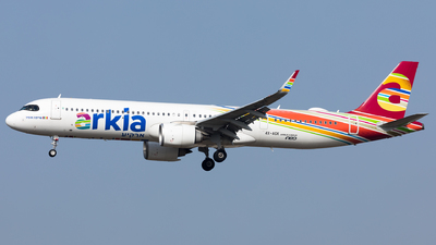 A picture of 4XAGK - Airbus A321251NX - Arkia Israeli Airlines - © Sierra Aviation Photography
