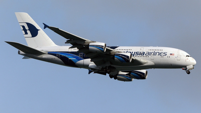 A picture of 9MMNC - Airbus A380841 - Malaysia Airlines - © Alvin Ho - AHKGAP
