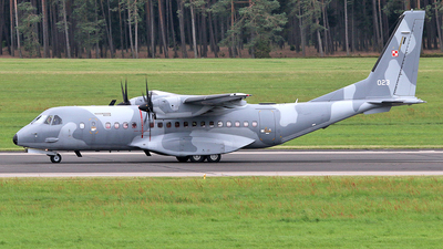 023 - CASA C-295M - Poland - Air Force