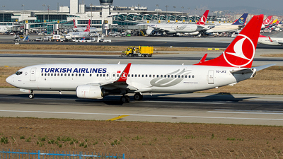 TC-JFZ - Boeing 737-8F2 - Turkish Airlines
