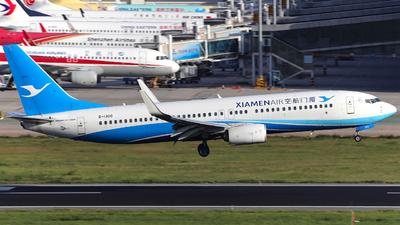 B-1300 - Boeing 737-85C - Xiamen Airlines