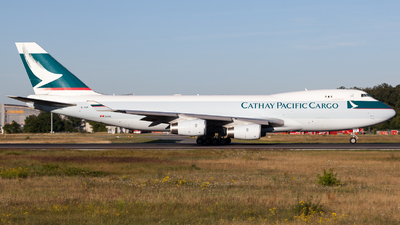 B-HUK - Boeing 747-467F(SCD) - Cathay Pacific Cargo