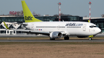 YL-BBX - Boeing 737-36Q - Air Baltic