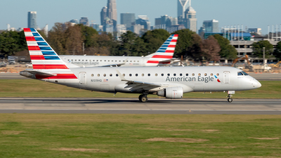 A picture of N109HQ - Embraer E175LR - American Airlines - © Yan777