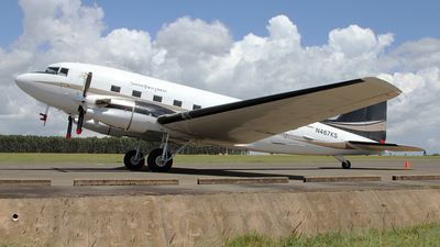 N467KS - Douglas DC-3C-TP - Priority Air Charter