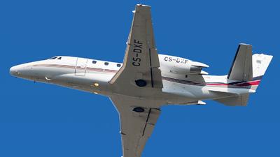 CS-DXF - Cessna 560XL Citation Excel - NetJets Europe
