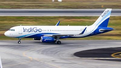 A picture of VTIFK - Airbus A320232 - IndiGo - © Wzqspotting