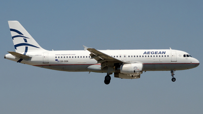 SX-DGN - Airbus A320-232 - Aegean Airlines