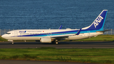 A picture of JA58AN - Boeing 737881 - All Nippon Airways - © O.Yudai