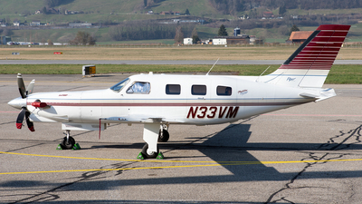 N33VM - Piper PA-46-350P Malibu Mirage - Private