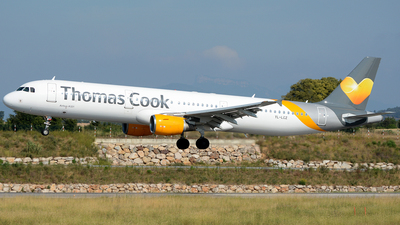 YL-LCZ - Airbus A321-211 - Thomas Cook Airlines (SmartLynx Airlines)