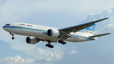 9K-AOA - Boeing 777-269(ER) - Kuwait Airways