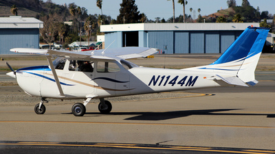 N1144M - Cessna 172L Skyhawk - Private