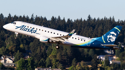 N186SY - Embraer 170-200LR - Alaska Airlines (Skywest Airlines)