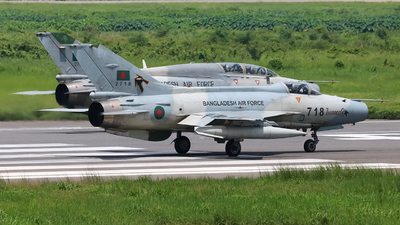 2718 - Chengdu F-7BGI - Bangladesh - Air Force