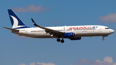 A picture of TCSBM - Boeing 7378AS - Turkish Airlines - © Birtan Tanrikulu