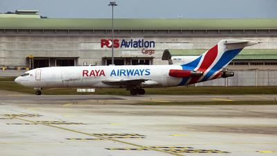 9M-TGH - Boeing 727-247(Adv)(F) - Raya Airways