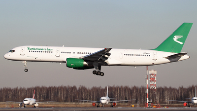A picture of EZA011 - Boeing 75722K - Turkmenistan Airlines - © ShipSash