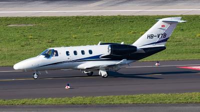 HB-VTB - Cessna 525 CitationJet M2 - Private