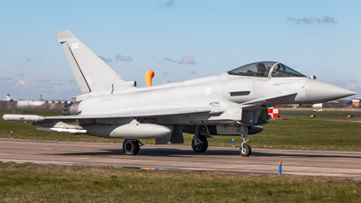 A picture of ZK350 - Eurofighter Typhoon FGR.4 -  - © James Dinsdale