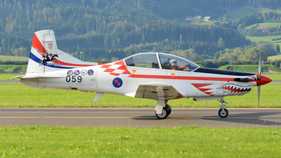 059 - Pilatus PC-9M - Croatia - Air Force