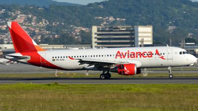 PR-AVU - Airbus A320-214 - Avianca Brasil