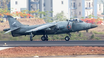 IN602 - British Aerospace Sea Harrier FRS.51 - India - Navy
