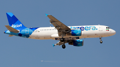 9K-CAP - Airbus A320-214 - Jazeera Airways