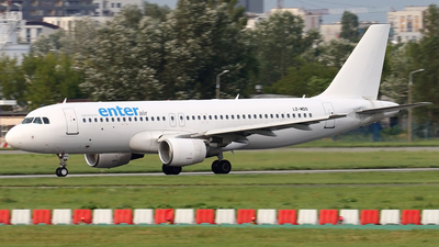 LZ-MDO - Airbus A320-214 - Enter Air