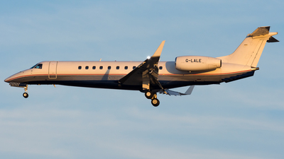 G-LALE - Embraer ERJ-135BJ Legacy 600 - London Executive Aviation