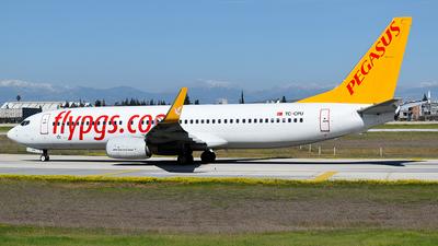 A picture of TCCPU - Boeing 73786N - Pegasus Airlines - © Savas binici