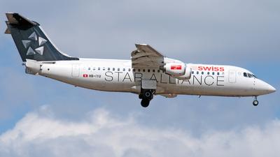 HB-IYU - British Aerospace Avro RJ100 - Swiss